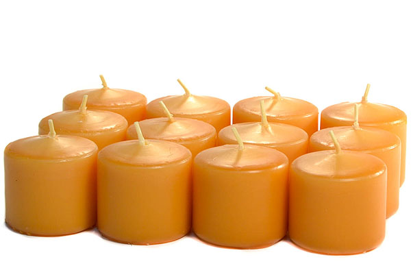 Unscented Harvest Votives 15 Hour