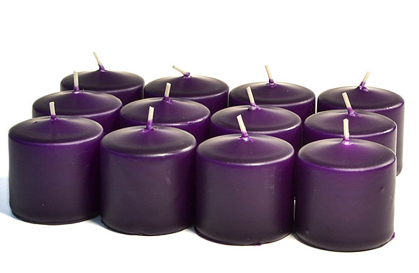 Unscented Lilac Votives 15 Hour