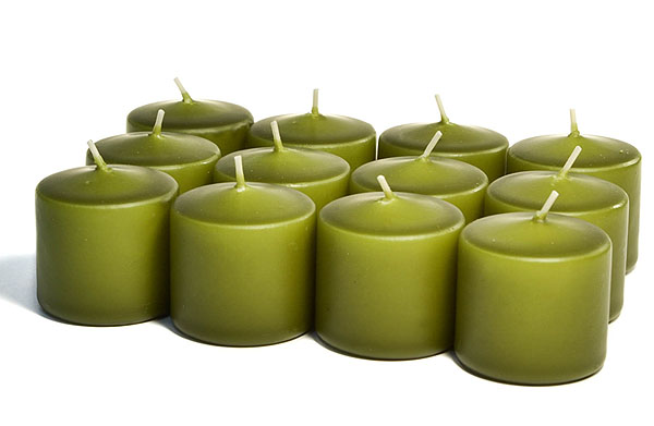 Unscented Sage Votives 10 Hour