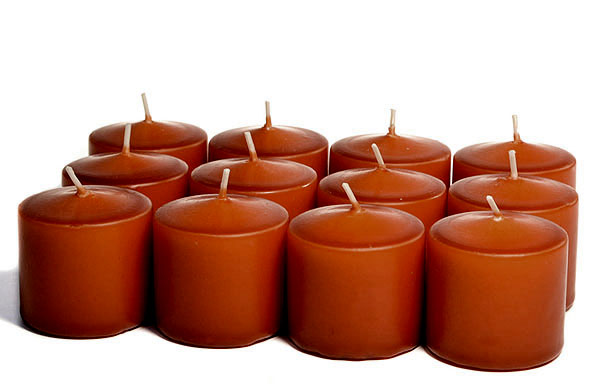 Unscented Terracotta Votives 10 Hour