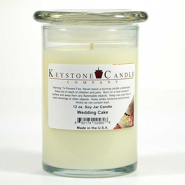 12 oz Wedding Cake Soy Jar Candles