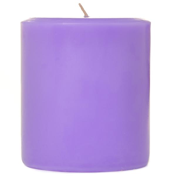 Lavender 3x3 Pillar Candles