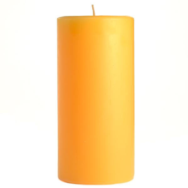 Creamsicle 3x6 Pillar Candles