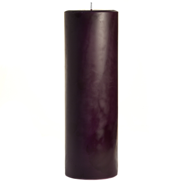 Black Cherry 3x9 Pillar Candles