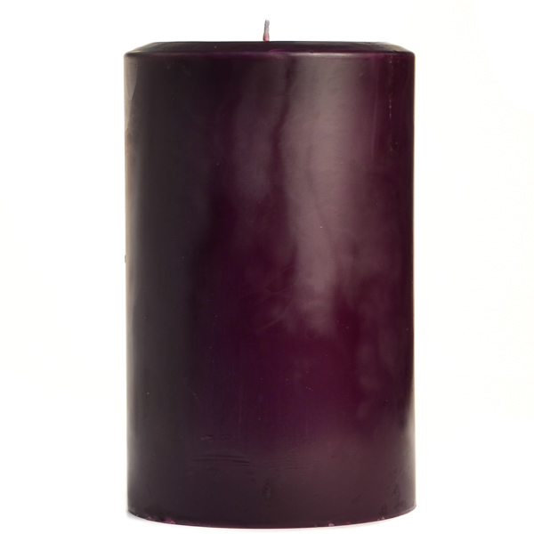 Black Cherry 4x6 Pillar Candles