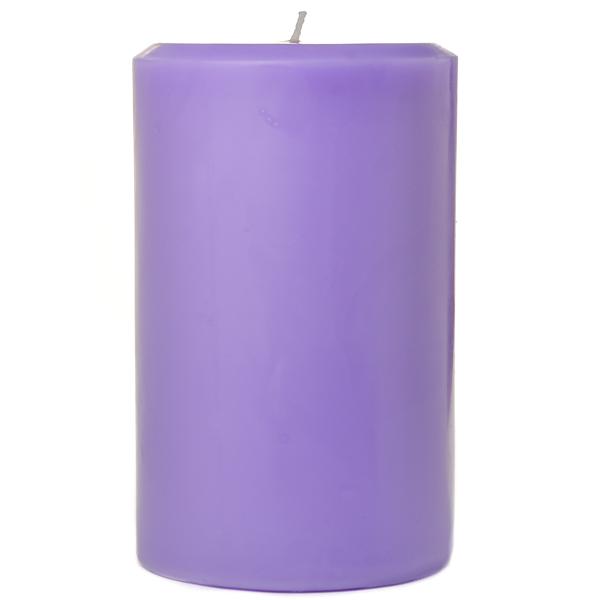 Lavender 4x6 Pillar Candles