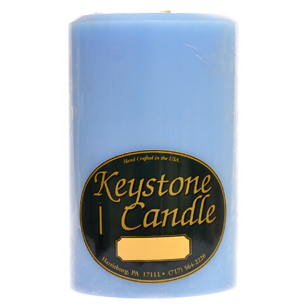 Ocean Breeze 4x6 Pillar Candles