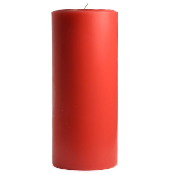 Ruby Red Grapefruit 4x9 Pillar Candles
