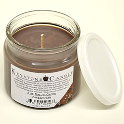 5 oz Gingerbread Soy Jar Candles