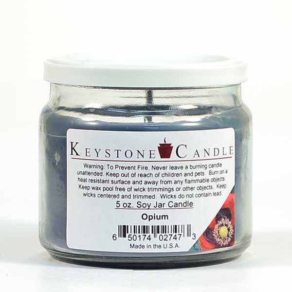 5 oz Opium Soy Jar Candles