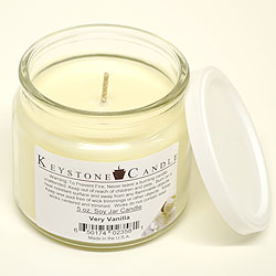 5 oz Very Vanilla Soy Jar Candles