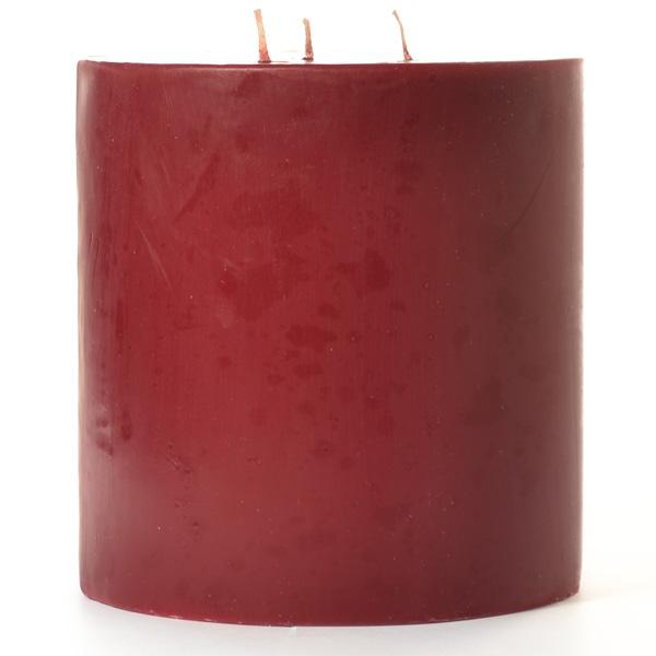 Cranberry Chutney 6x6 Pillar Candles