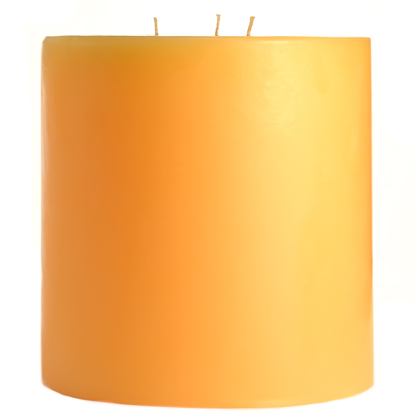 Creamsicle 6x6 Pillar Candles