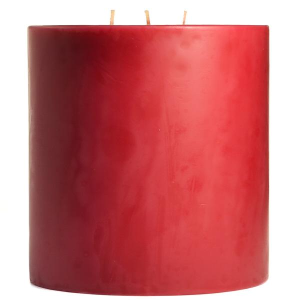 Raspberry Cream 6x6 Pillar Candles