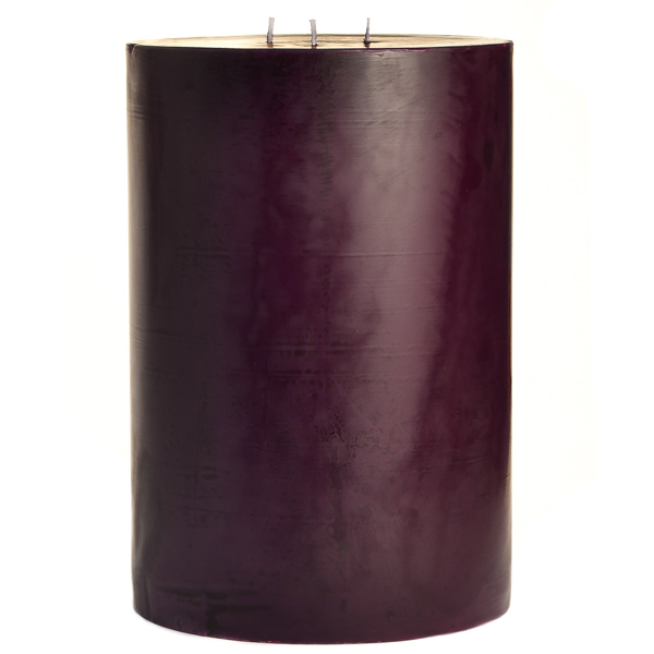 Black Cherry 6x9 Pillar Candles