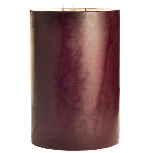 Spiced Plum 6x9 Pillar Candles