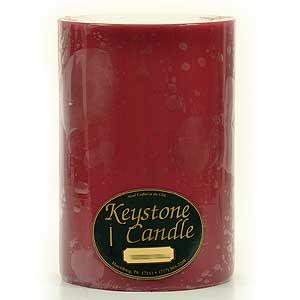 Raspberry Cream 6x9 Pillar Candles
