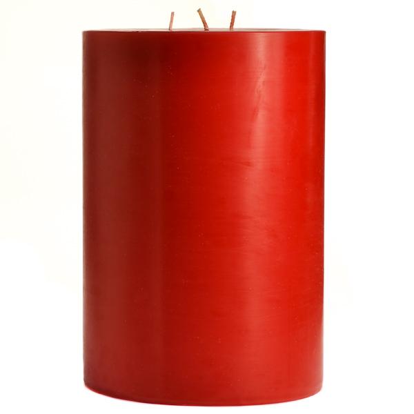 Mistletoe and Holly 6x9 Pillar Candles