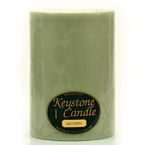 Sage and Citrus 6x9 Pillar Candles