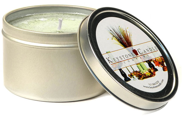 Warm Vanilla Sugar Candle Tins 8 oz