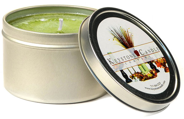 Sage and Citrus Candle Tins 8 oz