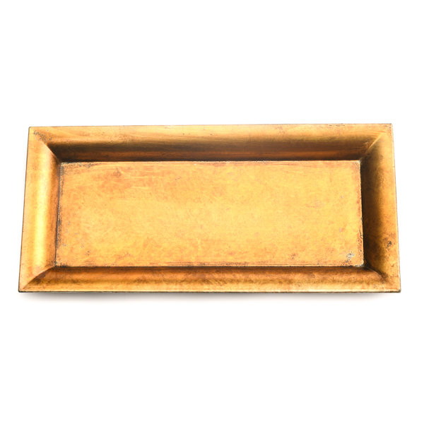 Gold Rectangle Mosaic Tray