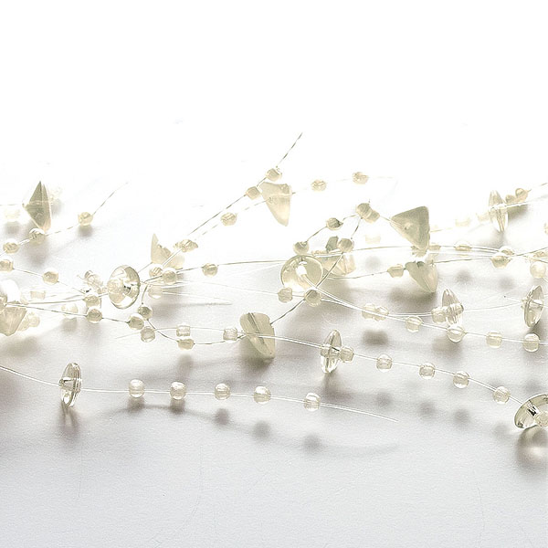 Beaded Garland Ivory