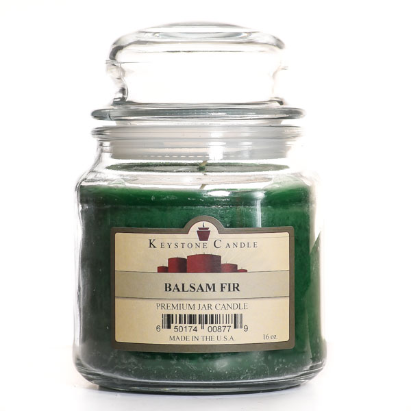16 oz Balsam Fir Jar Candles