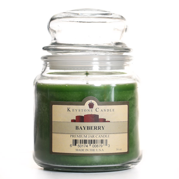16 oz Bayberry Jar Candles
