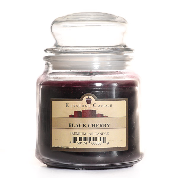 16 oz Black Cherry Jar Candles