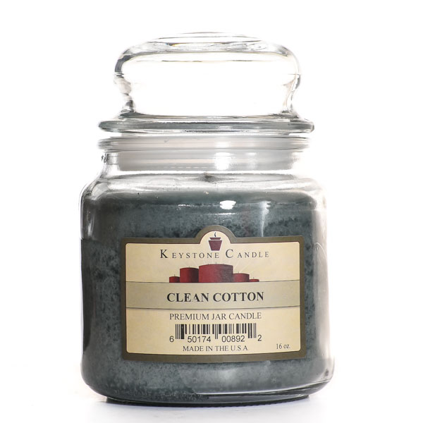 16 oz Clean Cotton Jar Candles