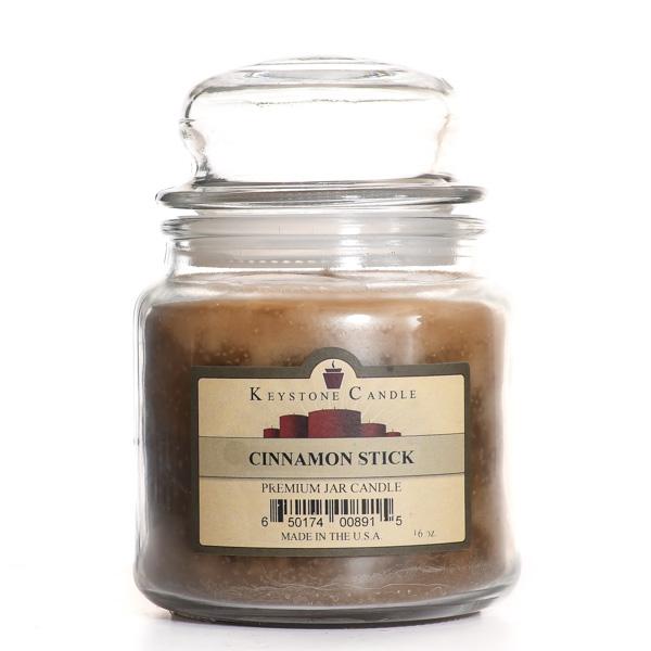 16 oz Cinnamon Stick Jar Candles