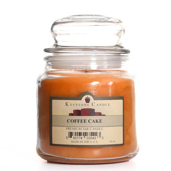 16 oz Coffee Cake Jar Candles