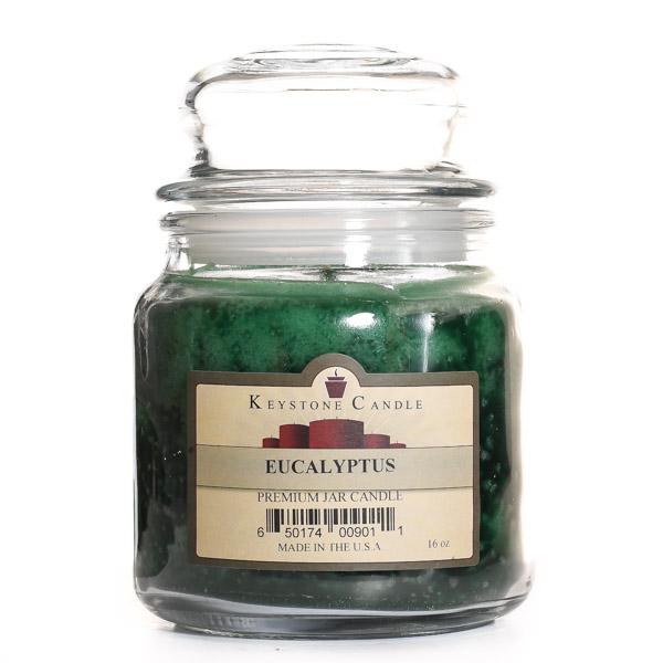 16 oz Eucalyptus Jar Candles