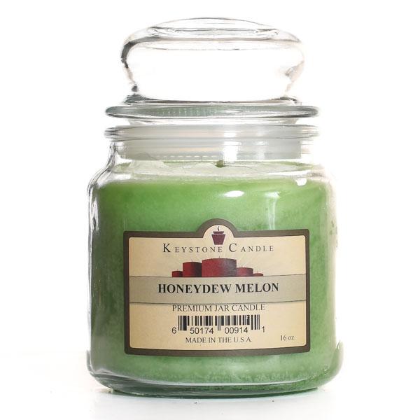 16 oz Honeydew Melon Jar Candles