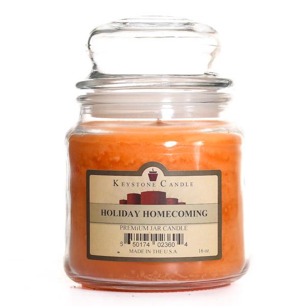 16 oz Holiday Homecoming Jar Candles