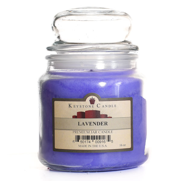 16 oz Lavender Jar Candles