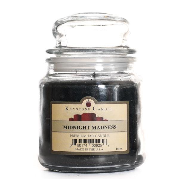 16 oz Midnight Madness Jar Candles