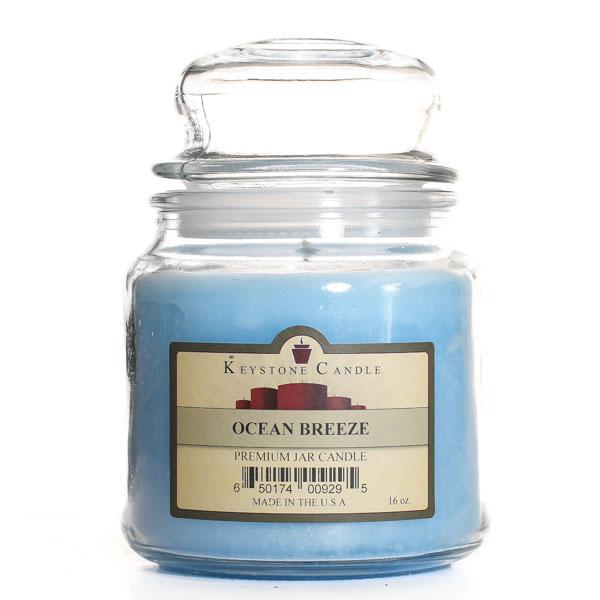 16 oz Ocean Breeze Jar Candles