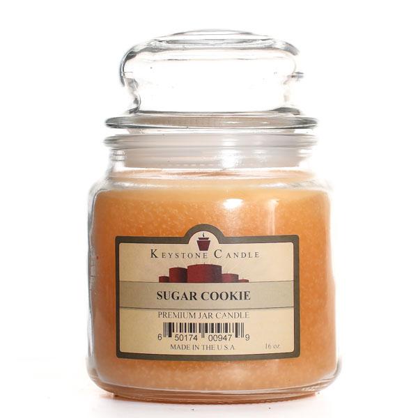 16 oz Sugar Cookie Jar Candles