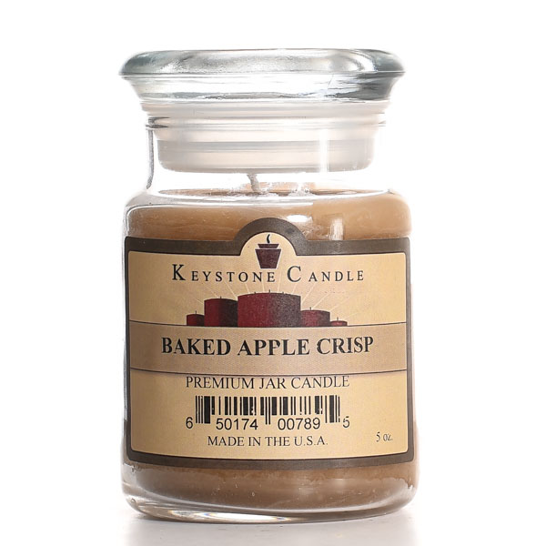 5 oz Baked Apple Crisp Jar Candles