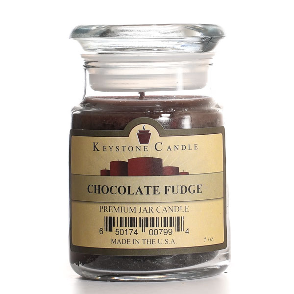 5 oz Chocolate Fudge Jar Candles