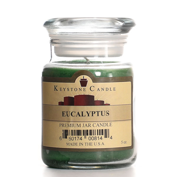 5 oz Eucalyptus Jar Candles
