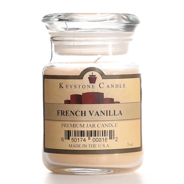 5 oz French Vanilla Jar Candles