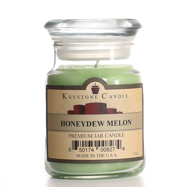 5 oz Honeydew Melon Jar Candles