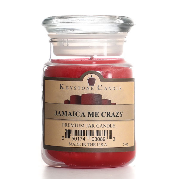 5 oz Jamaica Me Crazy Jar Candles
