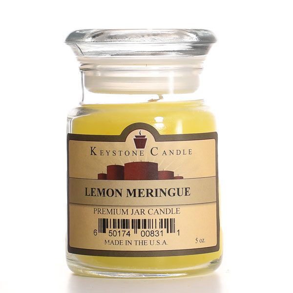 5 oz Lemon Meringue Jar Candles