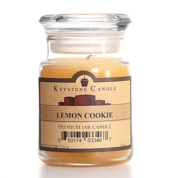 5 oz Lemon Cookie Jar Candles