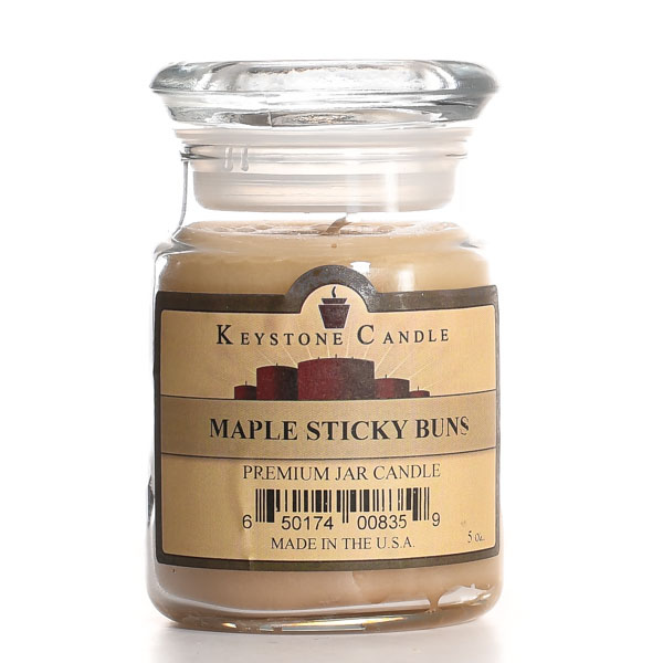 5 oz Maple Sticky Buns Jar Candles