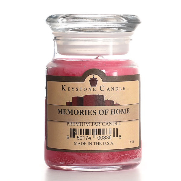 5 oz Memories of Home Jar Candles